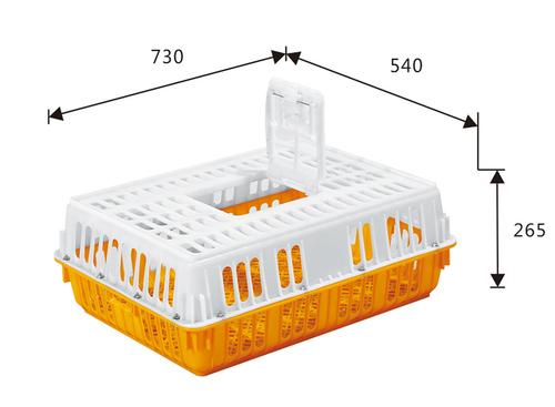 Plastic Chicken Transport Crate