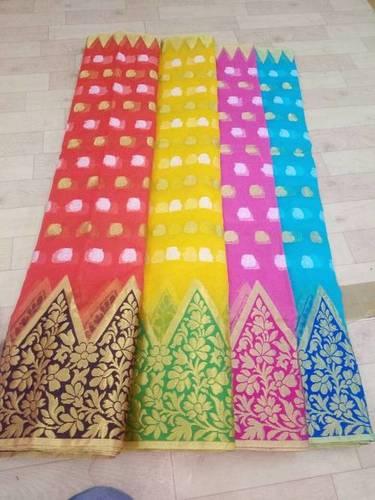 Designer Bhaubhali Kora Saree