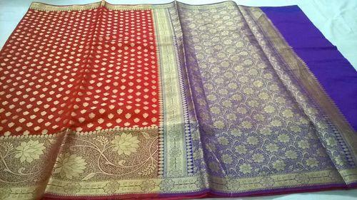 Fancy Chanderi Silk Banarasi Saree