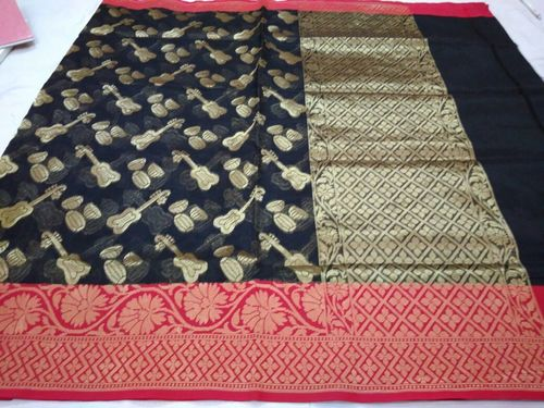 Ladies Designer Handloom Kora Sarees in   Madanpura