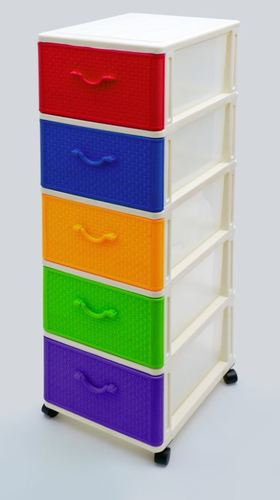 5 Stage Dolphin Plastic Drawer