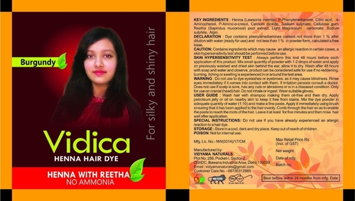 Hair Dye Packaging Pouches