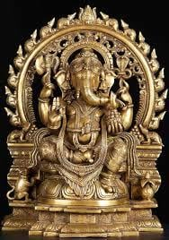 Reliable Brass Ganesh Statue