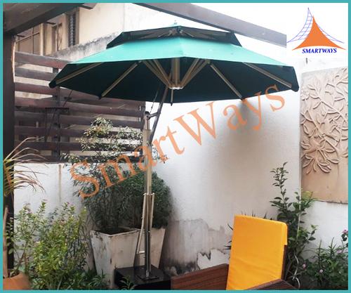 One Fold Garden Umbrellas