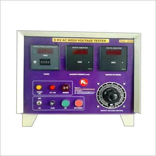 High Voltage Tests Set Panel