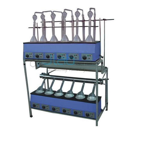 Kjeldhal Digestion And Distillation Units Combined