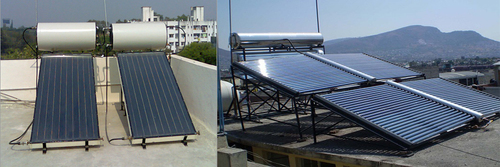 Solar Water Heaters in  Navyug Market
