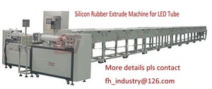Silicon Rubber Extrude Machine For LED