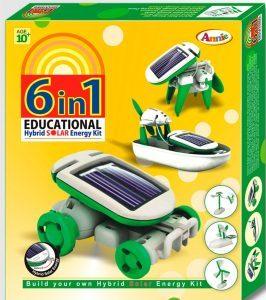 Multi Color Annie 6 In 1 Educational Hybrid Solar E Kit Series 1