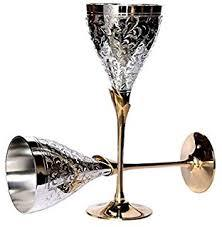 Silver Party Glass