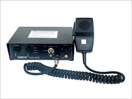 Loud Police Siren Amplifier