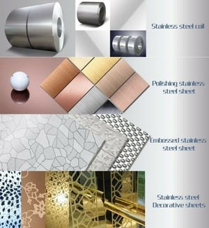 Decorative Stainless Steel Sheet For Elevator Cabin