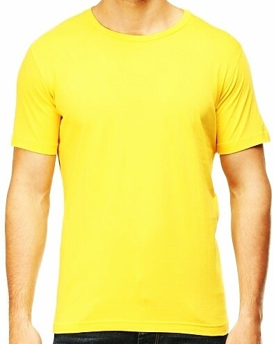 Mens Plain Half Sleeves T Shirts