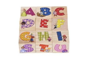 Wooden Block Picture Puzzle For Toddlers