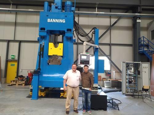 CNC Close Die Hydraulic Forging Hammer