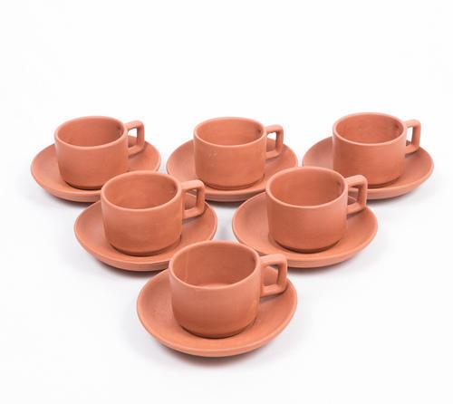 Earthenware Tea Coffee Cup Terracotta, Price 250 INR/Set | ID: 4521921