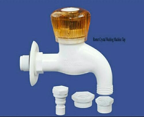 Crystal PTMT Plastic Washing Machine Water Tap