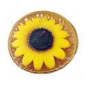 Custom Designer Sunflower Candles