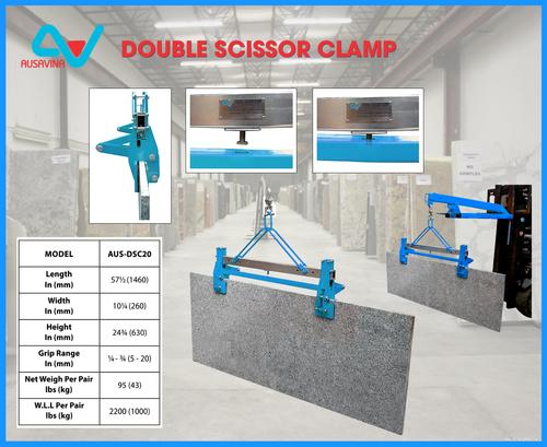 Industrial Double Scissor Clamp