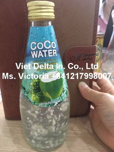 Coconut Water With Pulp Bottle