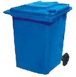 Vishakha 360L 2 Wheeled Dustbin DBIW-36-01 in  Kareli Baugh  (Vdr)