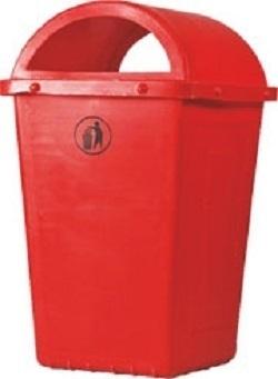 Vishakha Garbage Bin Red 110 L DBR-11-01