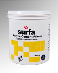 SURFA Water Based Exterior Acrylic Cement Primer