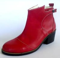 Ladies Leather Shoes (NZ-786-006)