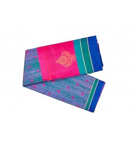 Blue Designer Banaras Silk Saree