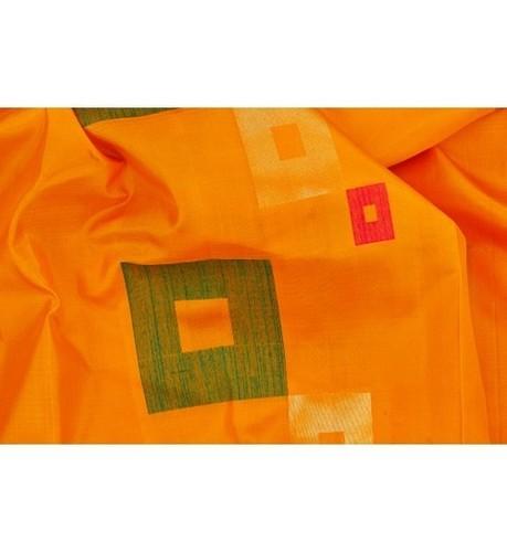 Yellow Designer Soft Silk Saree