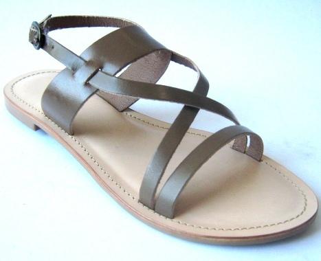 4864db436 Naaz Designer Ladies Leather Flat Sandals in Kanpur