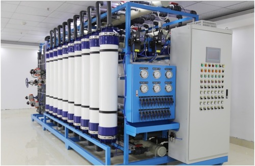 UF System For Waste Water Treatment System