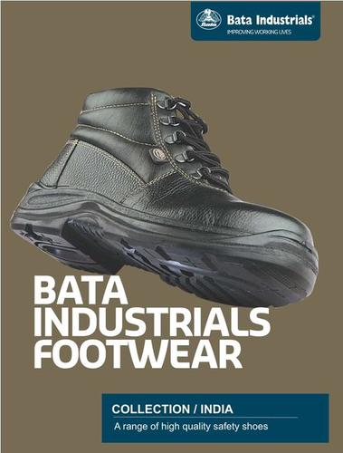 Bata Leather Safety Shoes