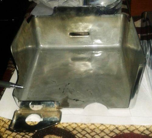 Bullet Motorcycle Battery Box