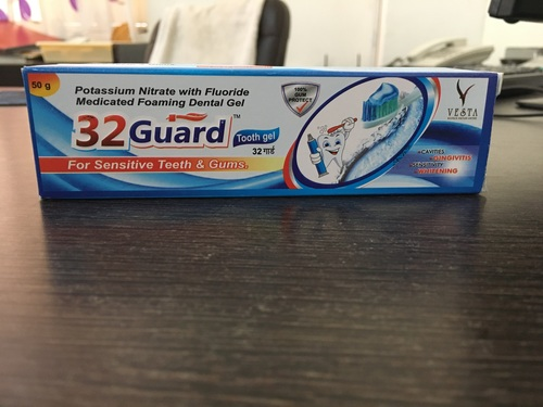 Potassium Nitrate With Fluoride Medicated Foaming Dental Gel