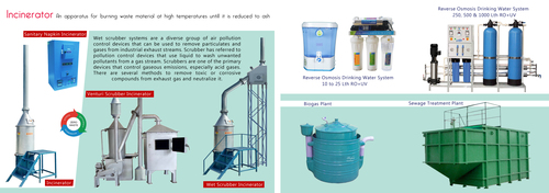 Fuel Free Waste Incinerators Without Scrubber