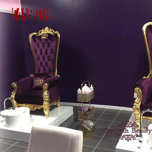 High Back King Throne Pedicure Chair