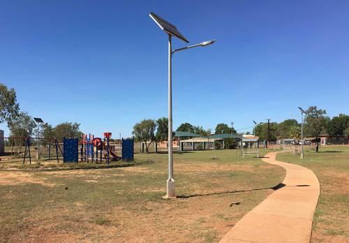 Solar Octagonal Shape Pole