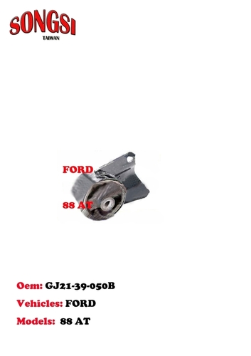Ford 88 AT Engine Mounting