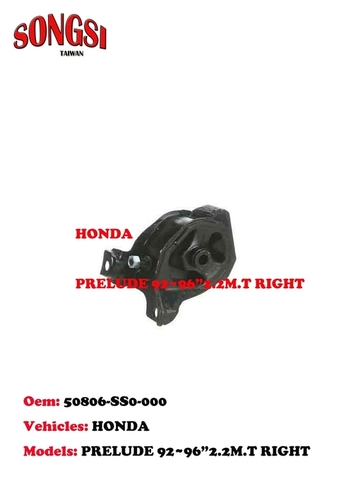 Honda Prelude 92-96 2.2M.T Right Engine Mounting