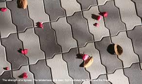 Grey Interlocking Paver Blocks