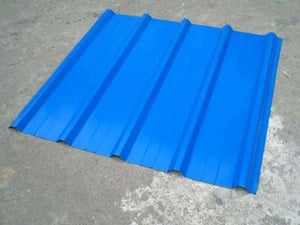 Color Coated Corrugated Steel Roofing Sheet