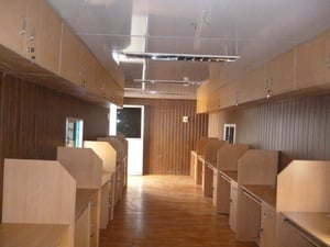 Newly Fabricated Office Cabin