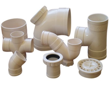 Rigid Upvc Plastic Pipe Fittings