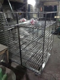 Stainless Steel Trolley Carriage