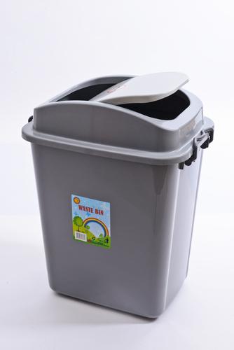 Plastic Swing Dustbin (40 Liters)