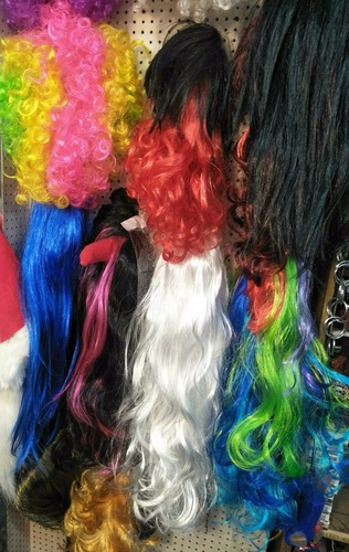 Fancy Party Wigs Material: Human Hair