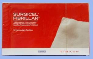 Surgicel Fibrillar Absorbable Hemostat