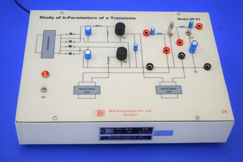 The Study Of Hybrid Parameters Of A Transistor, HP-01
