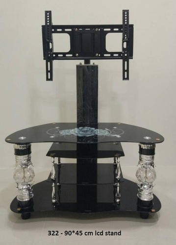 Glass LED TV Stand